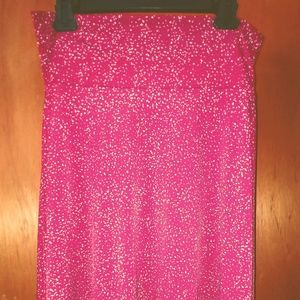 LuLaRoe Azure Skirt - Medium - Red Speckled